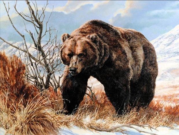 "Remington Calendar Art : Men s adventure magazines artist tom beecham from ""wild"