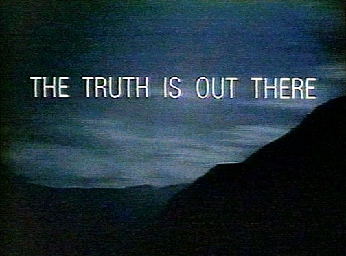 Quotes X Files Mesmerizing This Day In Quotes September 10  I Want To Believe The Truth Is