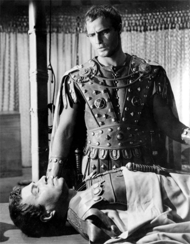 a comparison of the speeches of brutus and mark antony Full text and audio mp3 of movie julius caesar - marc antony addresses  here,  under leave of brutus and the rest -- for brutus is an honorable man so are.