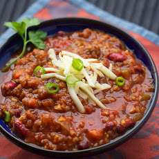 MY FAVORITE VEGETARIAN CHILI