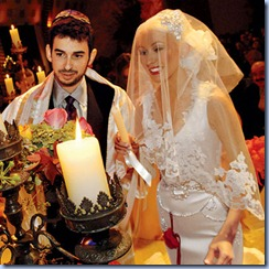Christina Aguilera Wedding