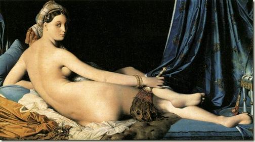 A Grande Odalisca, Ingres, 1814
