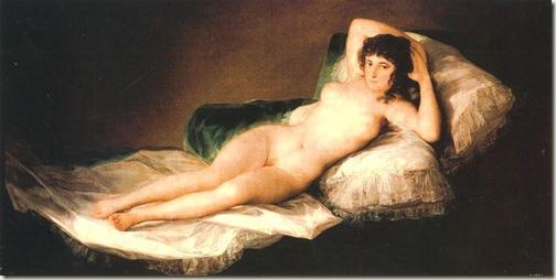 A Maja desnuda, Goya, 1796-98