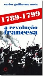 capa livro Revolução Francesa, de Carlos Guilherme Mota