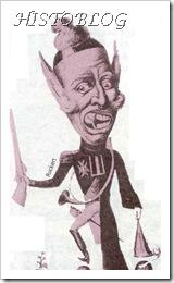 Caricatura de Carlos X