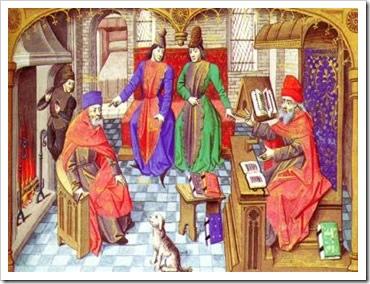 Burgueses do século XIII