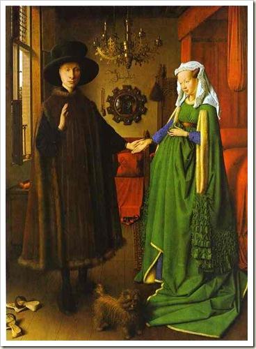 O Casal Arnolfini, de Jan Van Eyck