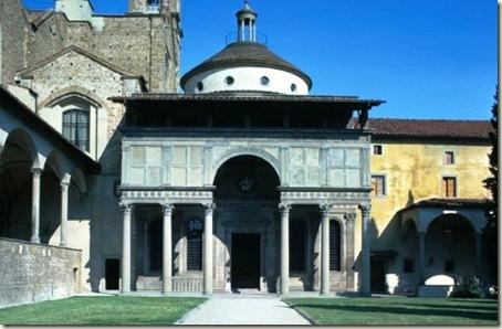 Filippo Brunelleschi - Capela Pazzi - Florença - Itália - 1429-1461