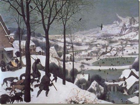 Caçadores na Neve, Pieter Bruegel