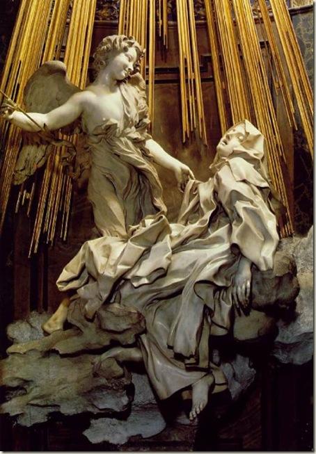 O Êxtase de Santa Teresa, Bernini, 1645-52, Capela Cornaro
