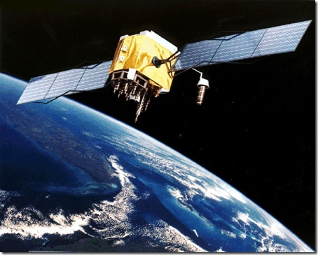 Satélite GPS (Global Positioning System)