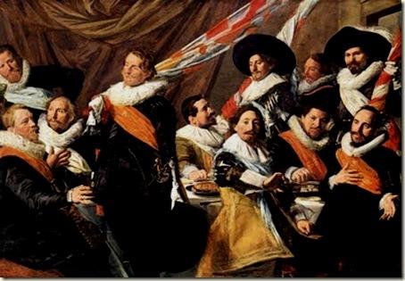 Banquete dos Oficiais da Companhia de Guarda São Jorge, Frans Hals