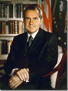 Richard Nixon, ex-presidente dos Estados Unidos da América