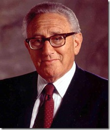 Henry Kissinger, ex-secretário de Estado norte-americano.