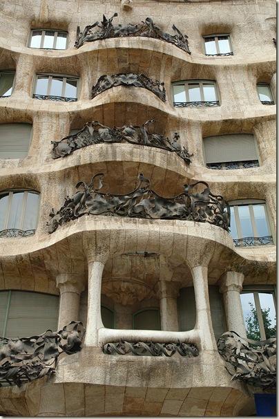 Detalhe, Casa Milá, Antonio Gaudi (1852-1926)