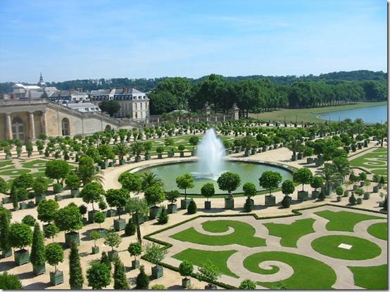 Jardim do Palácio de Versalhes - França