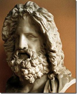 Júpiter  (romano)  ou  Zeus  (Grécoa)