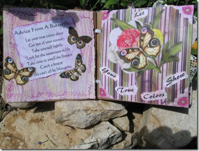 Ruidoso 2009 butterfly book Gianna's Baptism 2009 051