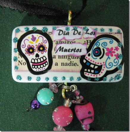 Catrina Halloween Corsages FOL sale garden ridge 016