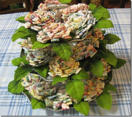 2010 paper cowgirl fabric flowers 006
