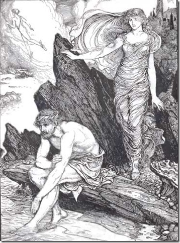 Odysseus and Athena