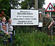 Sedbergh town sign