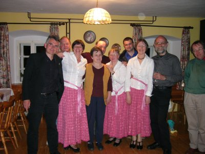 The Cautley Carollers in Medved