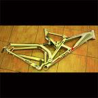 Bike Frame BGT Brawny - Silver