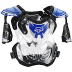 Motocross Protector Fox R3 Roost Deflector Blue