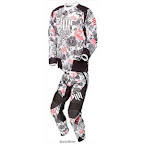Motocross Jersey & Pant One Industries Carbon Hart Huntington White Red