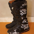 Motocross Boots Oneal Elemen Piston Black