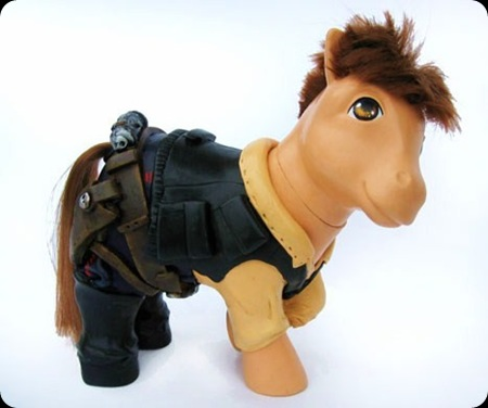cool star wars photos cute pony han solo
