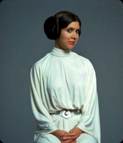princess leia bikini carrie fisher. Carrie Fisher as Princess Leia