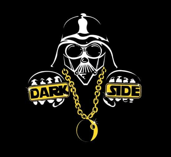 cool star wars darth dark side pimped out with bling