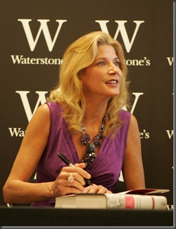 Candace Bushnell at Waterstones
