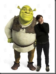 Shrek le troisieme Shrek the Third 2007 real Chris Miller Mike Myers COLLECTION CHRISTOPHEL