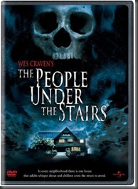 people under the stairs