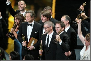 Oscar winners The Kings Speech[12]
