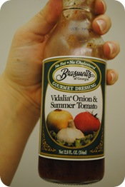 Braswell&#39;s Vidalia Onion and Summer Tomato Dressing