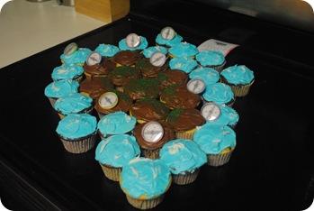 Island cupcakes