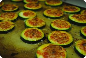 Mini zucchini parmigiana