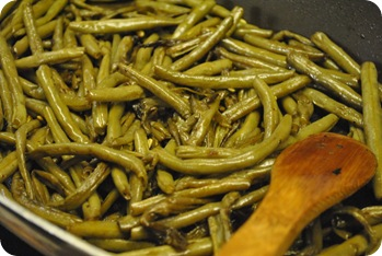 green beans