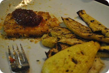 Tilapia and squash