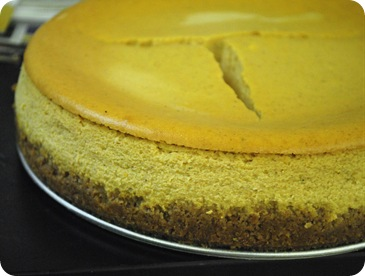 cracked pumpkin cheesecake