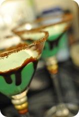 mint chocolate martinis