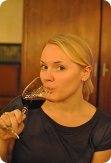 Kat + wine = bliss