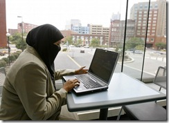 Muslim Women at work