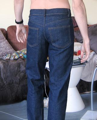 male pattern boldness: Kwik Sew Men\'s Jeans - Done!