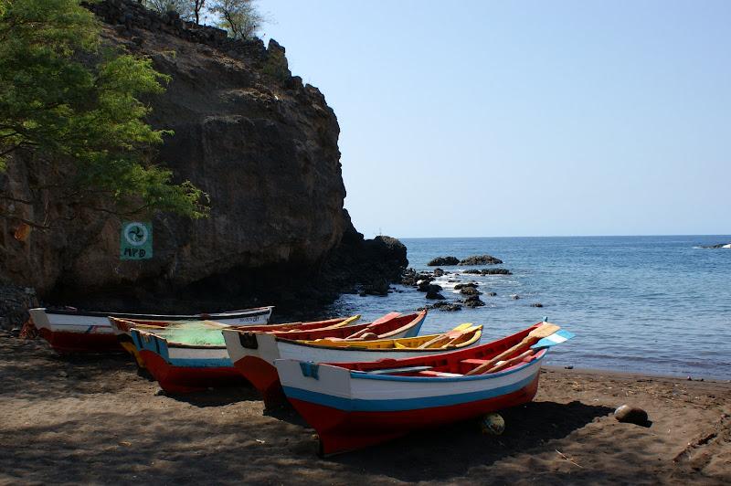 Barcos na Praia, Cidade Velha, Cabo Verde