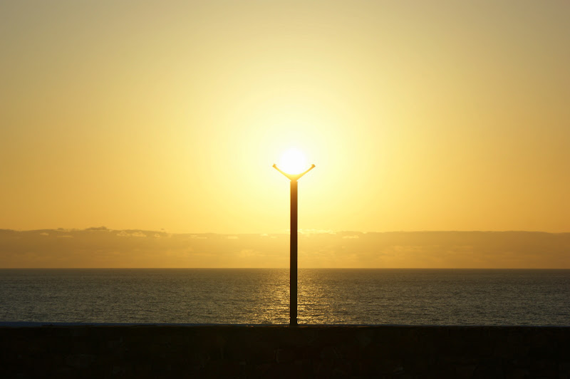 Pôr do Sol na Zambujeira do mar
